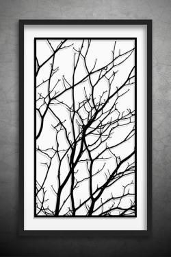 Old Wall Art Large Black Wall Art Canvas Black Saatchi Art Artist Dmytro E Iuliia Branchesoriginal Paper Cut Saatchi Tree Branches Original Paper Cut Black