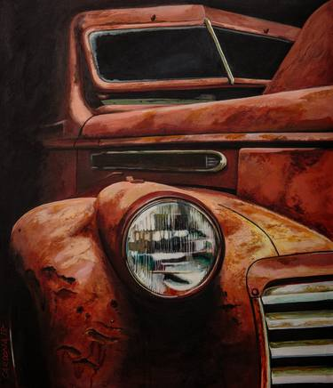 Rust And Decay Paintings For Sale Saatchi Art