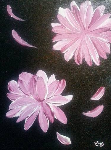 Floating Petals Paintings For Sale Saatchi Art