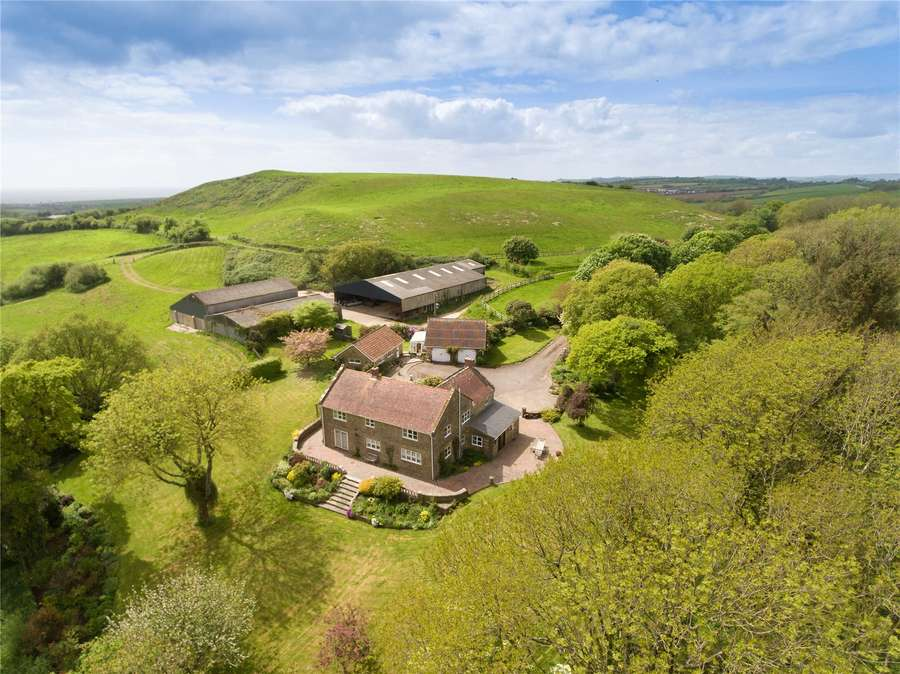 Farmhouse For Sale Dorset Savills Hammiton Farm Shipton Gorge Bridport Dorset