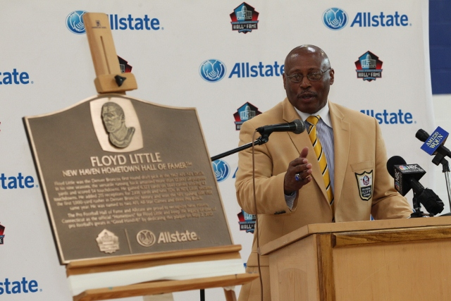 Denver Broncos RB Floyd Little Inducted Into Hometown Hall of Fame