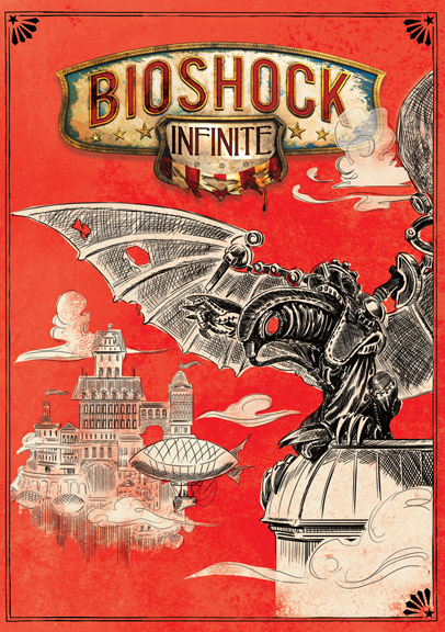 Bioshock Infinite Wallpaper Hd Bioshock Infinite Reverse Cover Art Revealed Polygon