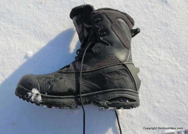 Salomon Toundra Mid Wp Winter Hiking Boot Review Section