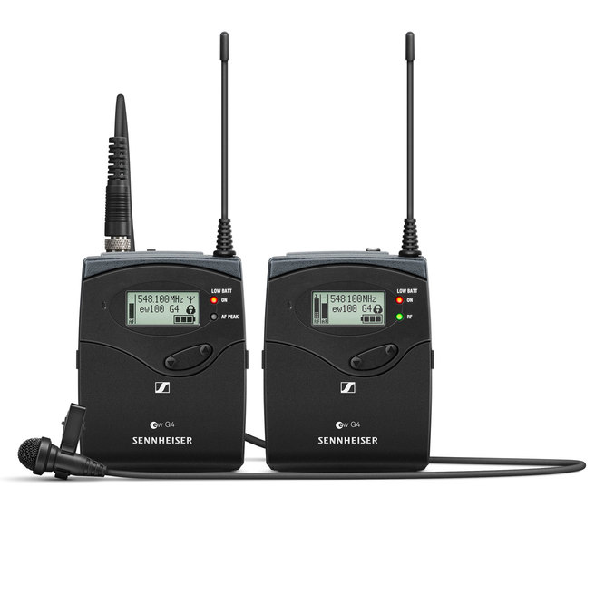 Sennheiser EW 112P G4 Wireless Portable Lavalier Microphone Set