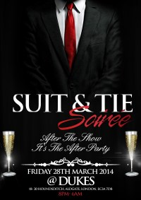 THE OFFICIAL SUIT AND TIE SOIRE tickets Dukes | Shoobs.com