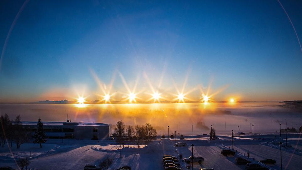 Here\u0027s What Winter Solstice Looks Like in Fairbanks, Alaska