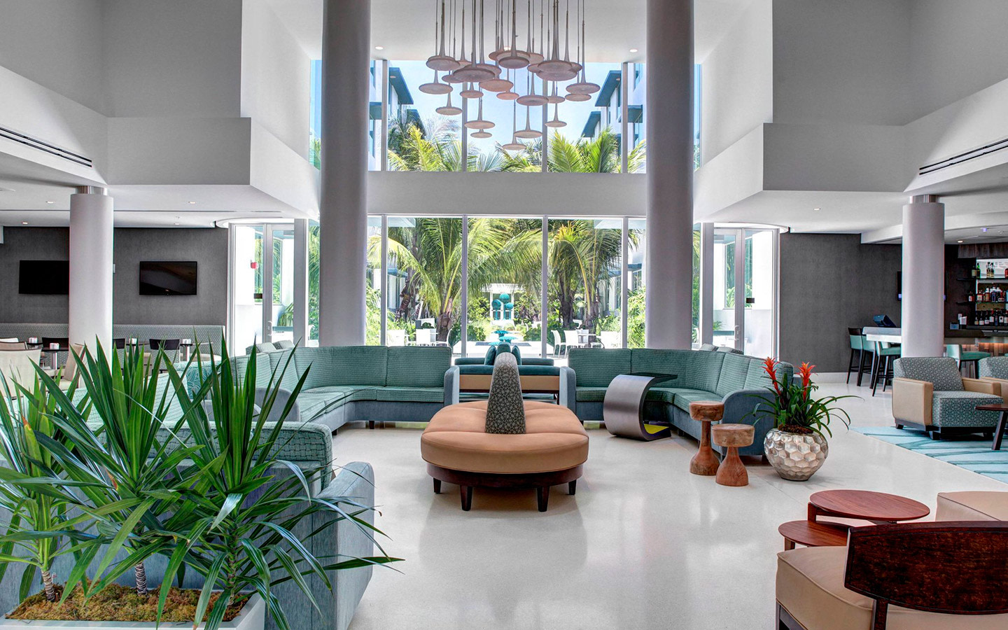 Piccola Cucina Miami Beach Residence Inn Miami Beach Nel Surfside Fl