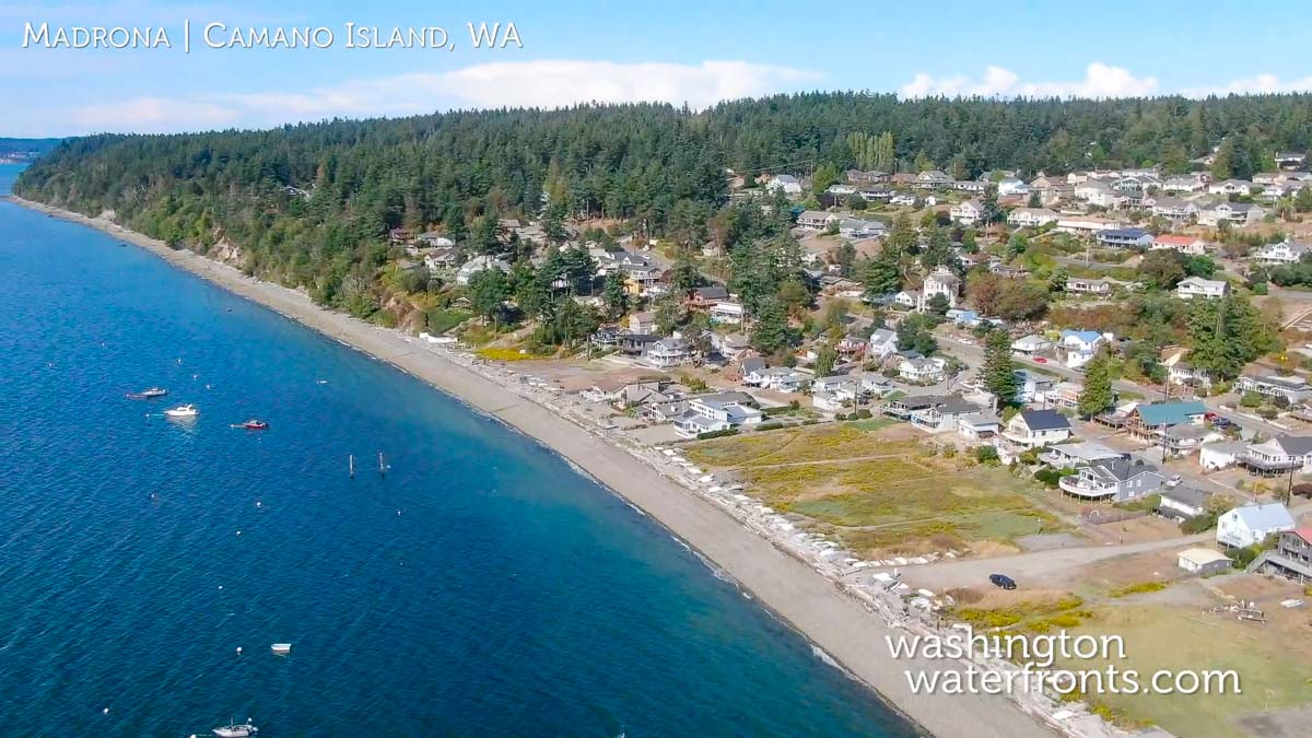 Madrona Waterfront Homes In Camano Island Wa Local Waterfront Specialists