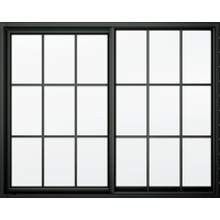 Black Window Frame transparent PNG - StickPNG