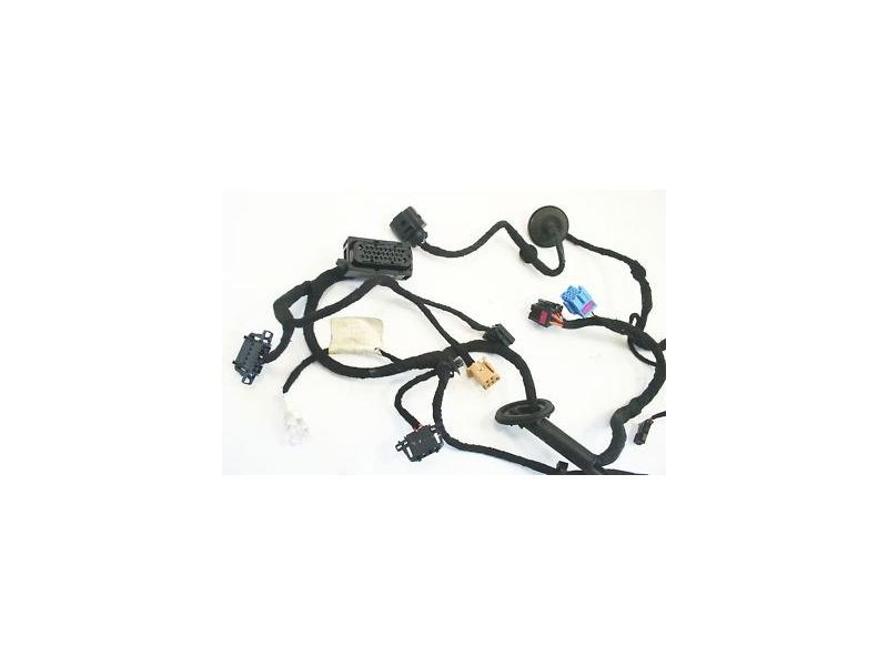 rh front door wiring harness vw jetta golf gti mk4 genuine oe 1j0
