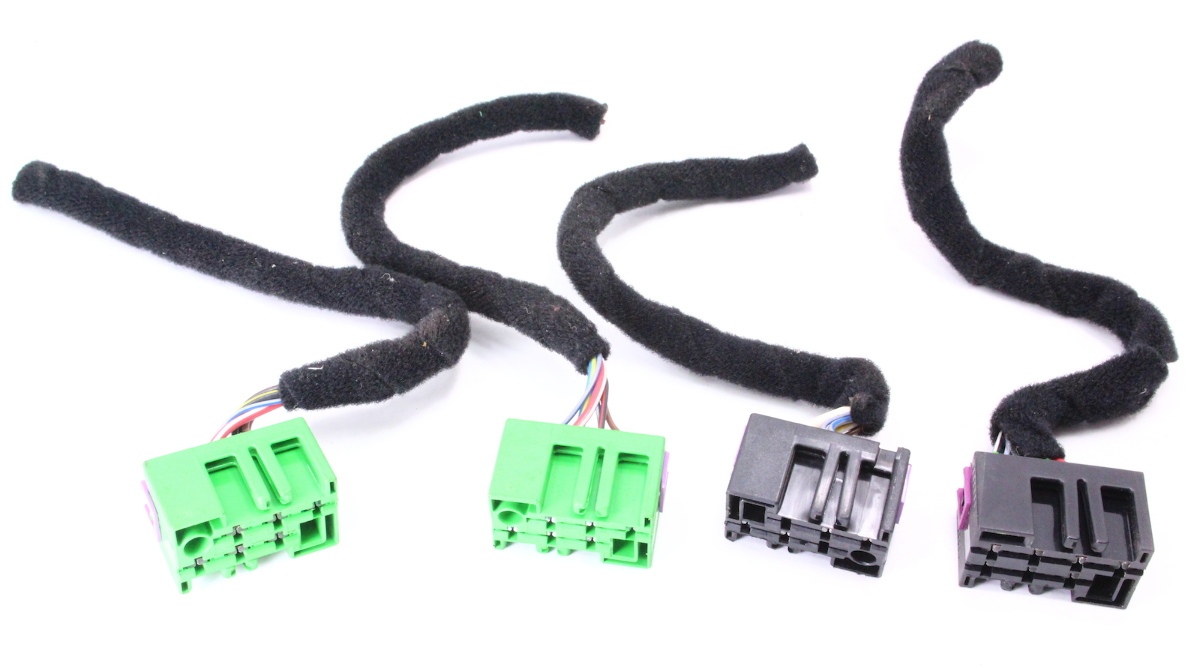 Dash Switch Wiring Pigtails 96 99 Audi A4 B5 Auto Electrical An Outlet Pigtail Button Plugs 98