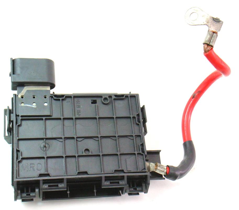 01 Vw Beetle Fuse Box