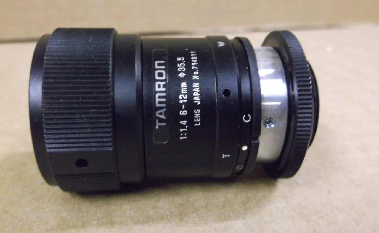 12 Mm Tamron Len 1:1.4 6 - 12 Mm | Daves Industrial Surplus Llc