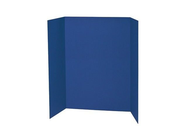 Spotlight 1 Ply Trifold Display Board, 48\