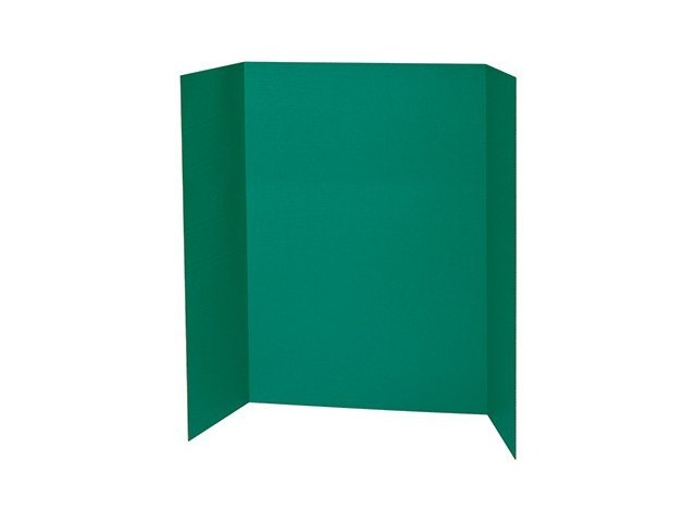 Spotlight 1 Ply Trifold Display Board, 48\