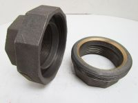 "Grinnell 3"" NPT Class 150 Malleable Iron Black Pipe Union ..."