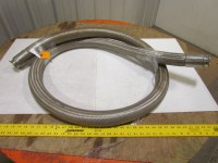 """2"""" Sanitary Stainless Steel Braided Flexible Hose Fitting ..."""