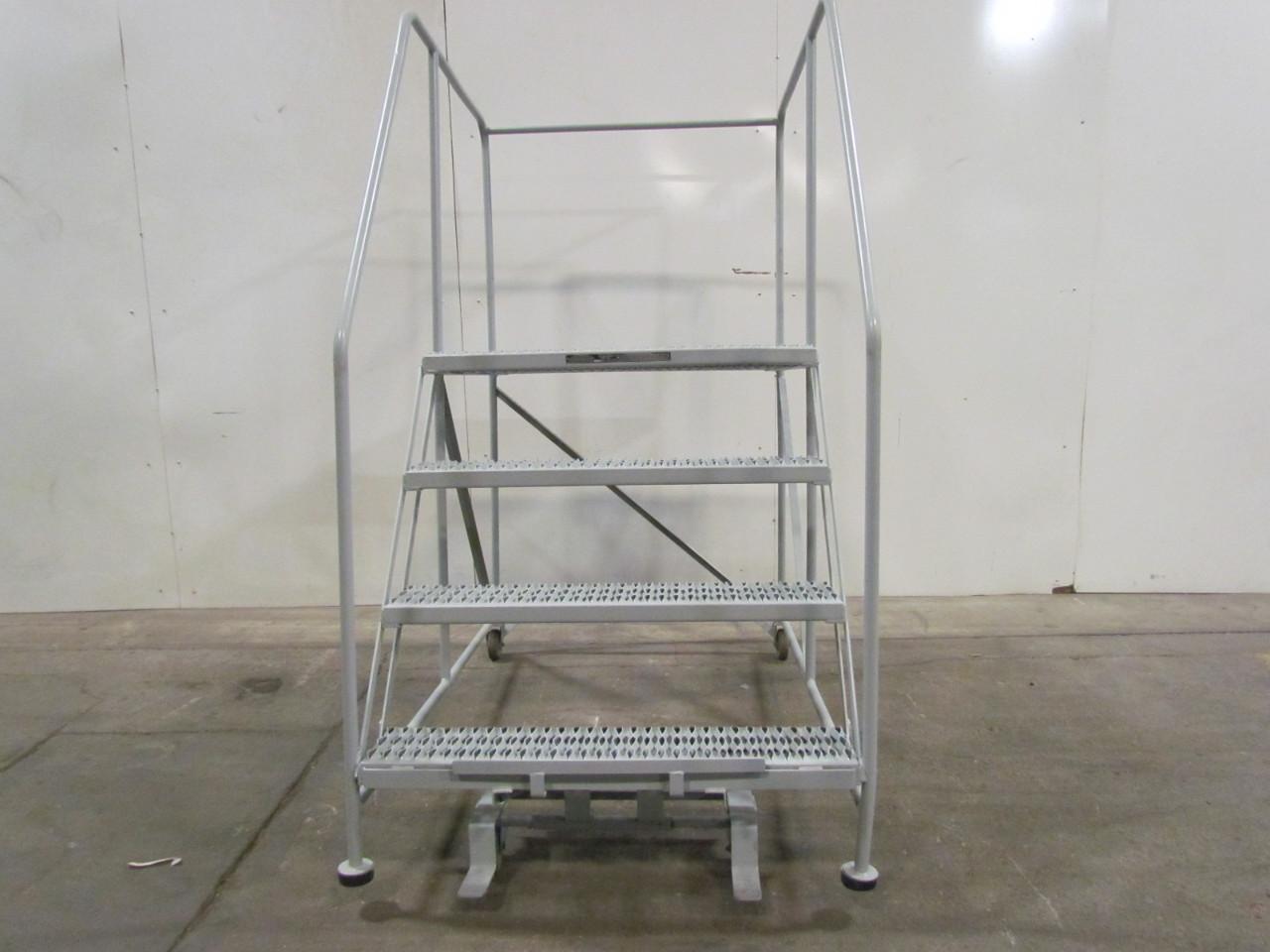 Cotterman 3 Step 40quoth Rolling Ladder Work Platform 4 Step