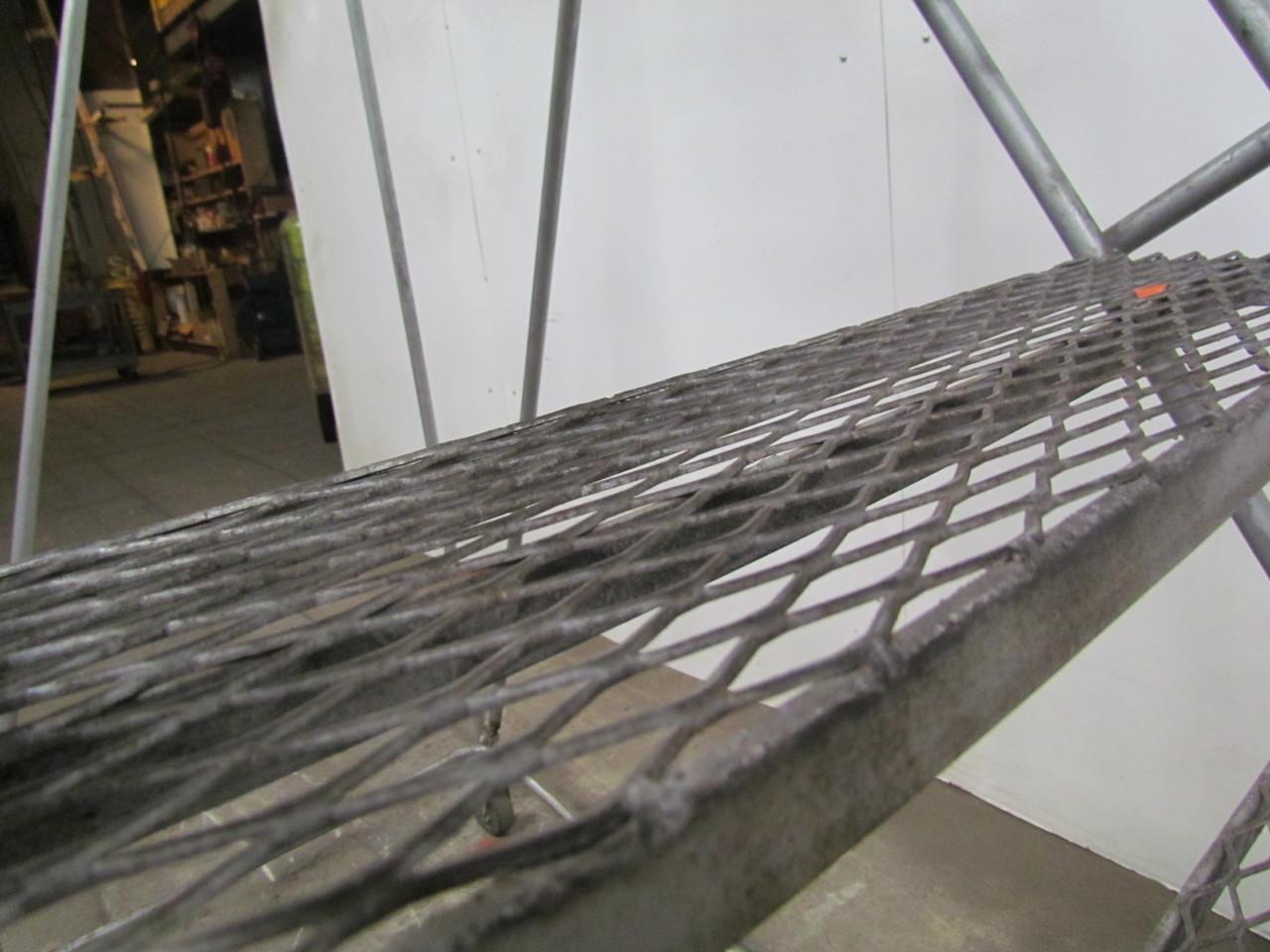 10 Step Rolling Ladder Safety Warehouse 95quot Platform