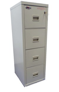 FireKing Turtle 4 Drawer Fireproof File Cabinet Letter ...