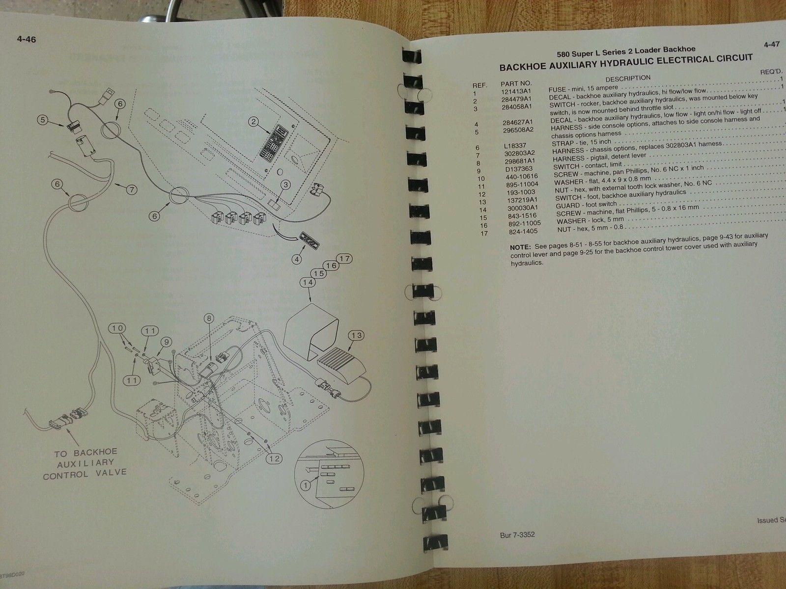 1998 case 580 super l wiring diagram