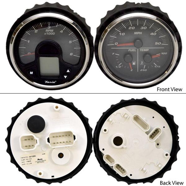 boat speedometer wiring diagram troubleshooting teleflex speedometer