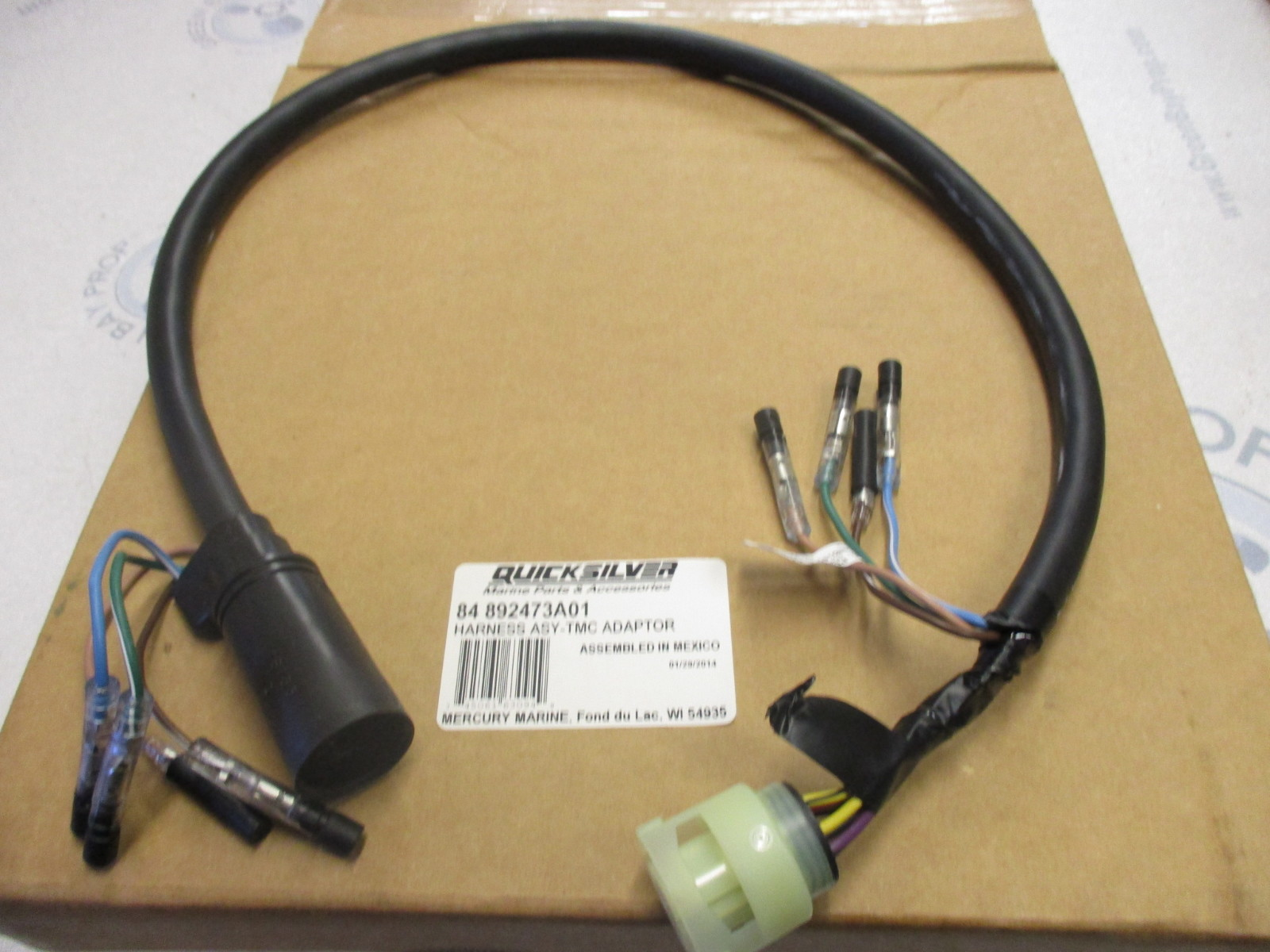 Wiring Harness Adapter For Mercury To Yamaha Auto Outboard
