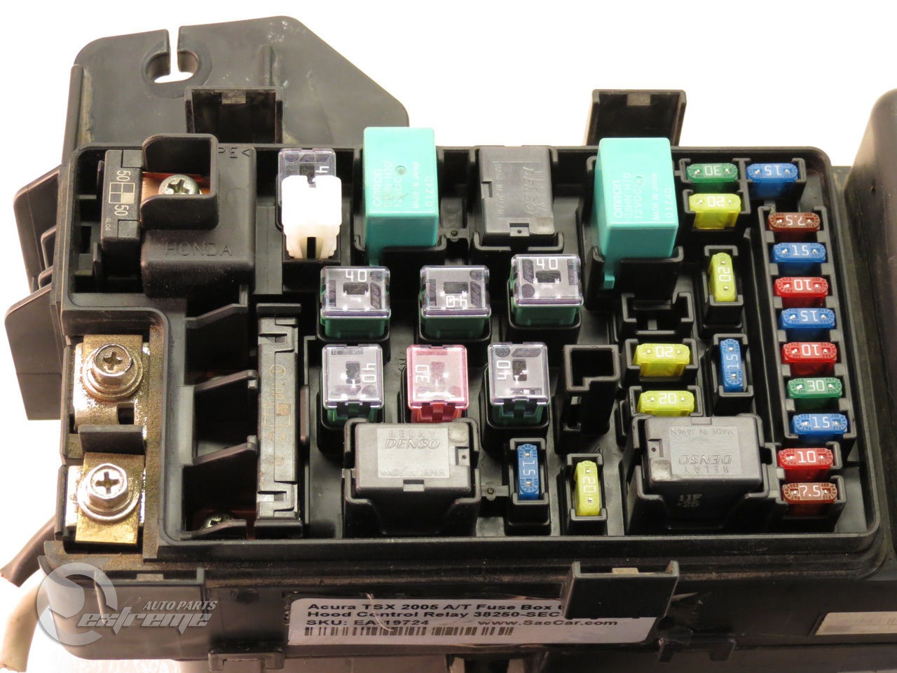 acura mdx fuse box cover