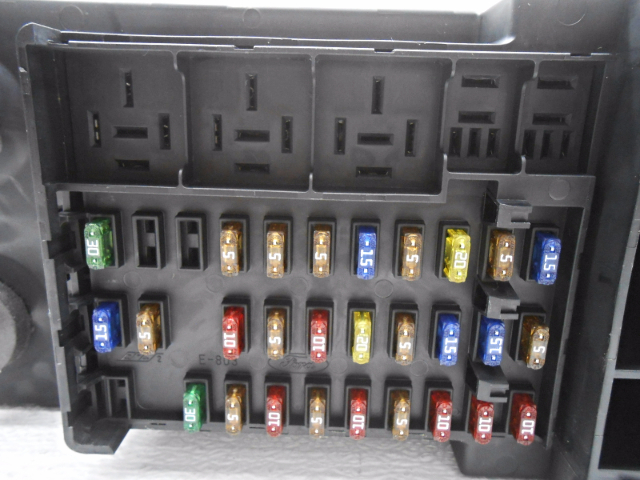 1997 ford expedition fuse box