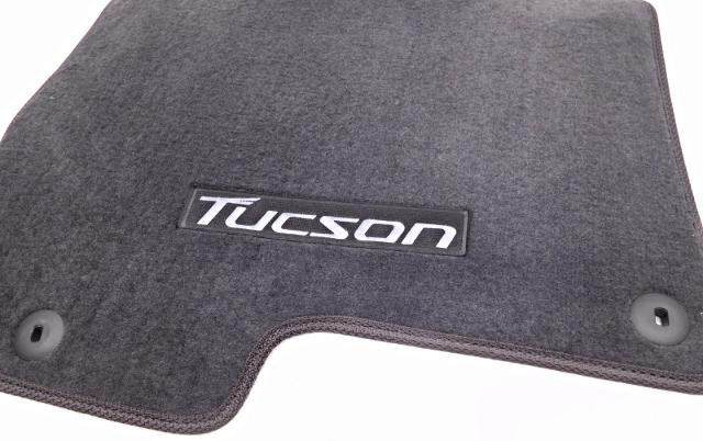 Oem Hyundai Tucson Gl Gls Limited Floor Mat Set Black