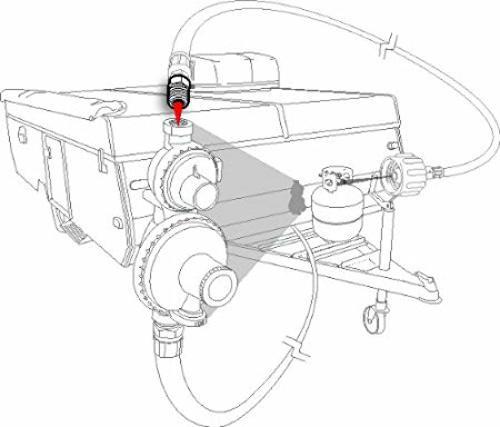 dirt bike fuel filter direction
