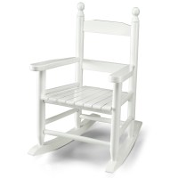 Wooden Rocking Chair for Kids, White | eBay