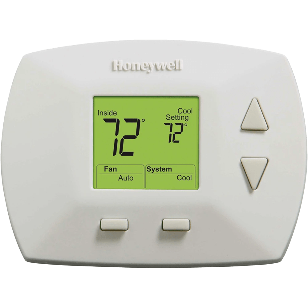 Honeywell Programmable Thermostat Honeywell Rth5100b Deluxe Non Programmable Thermostat