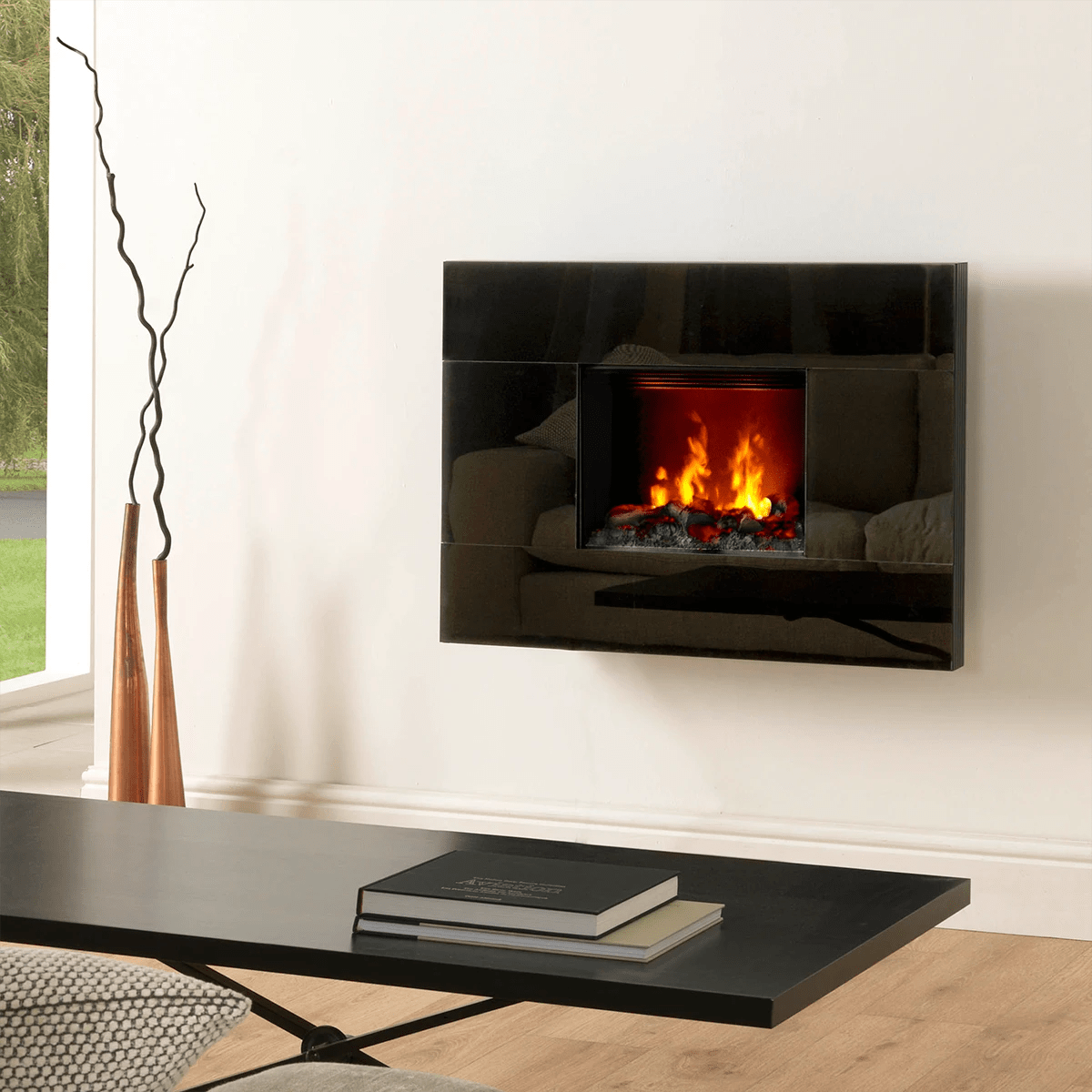Wall Mount Fireplaces Dimplex Tahoe Opti Myst Wall Mountelectric Fireplace Tah20r