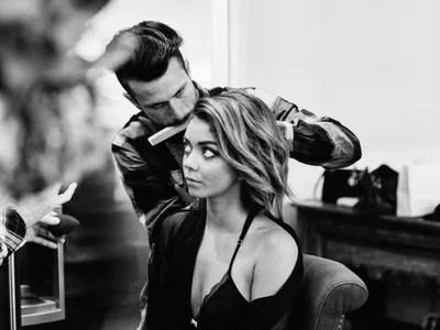 2015 Emmys - Beauty - Teen Vogue Exclusive - Sarah Hyland - Teen Vogue