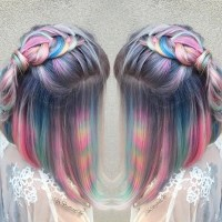 Hair Color Trends - Tye Dye Hair Color Trend | Teen Vogue