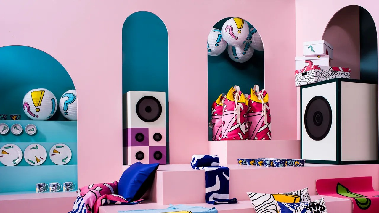 Neon Ikea Ikea S Spridd Collection Is Inspired By Music Festivals Teen Vogue