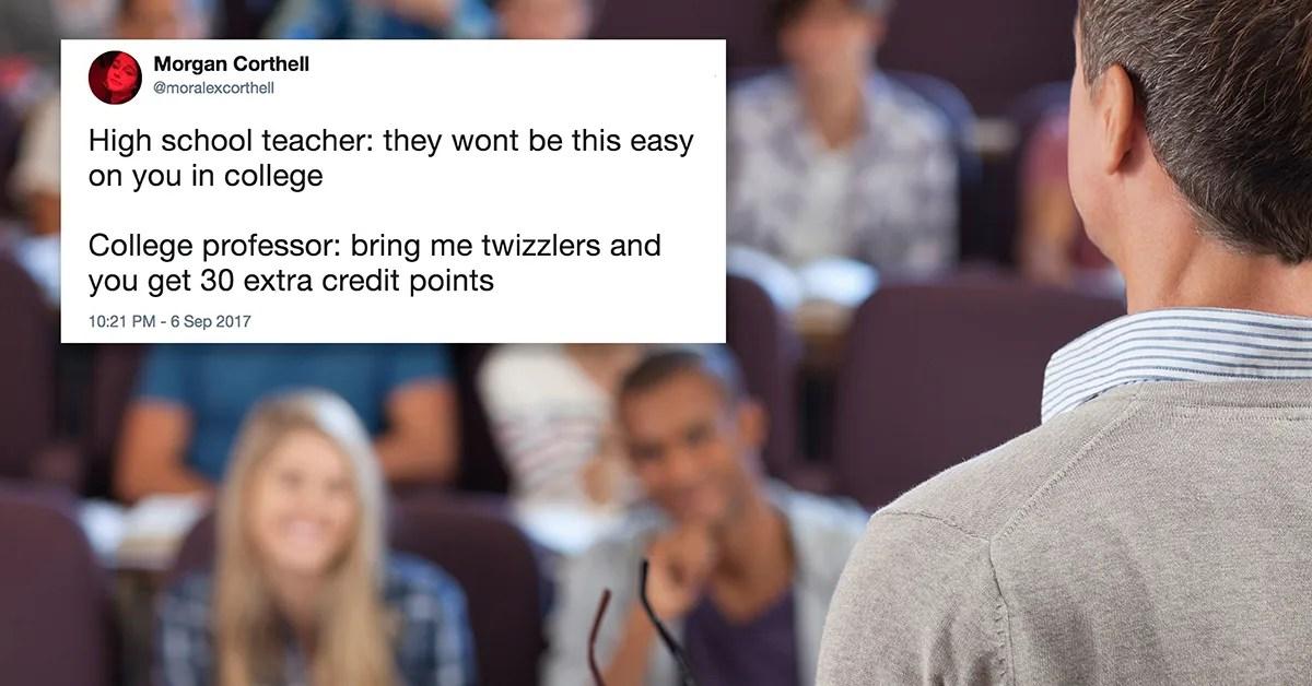 High School vs College\