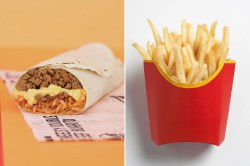 Witching Taco Bell Is Testing A Loaded Burrito Teen Vogue Nacho Fries Box Discontinued Nacho Fries Box Taco Bell Nutrition