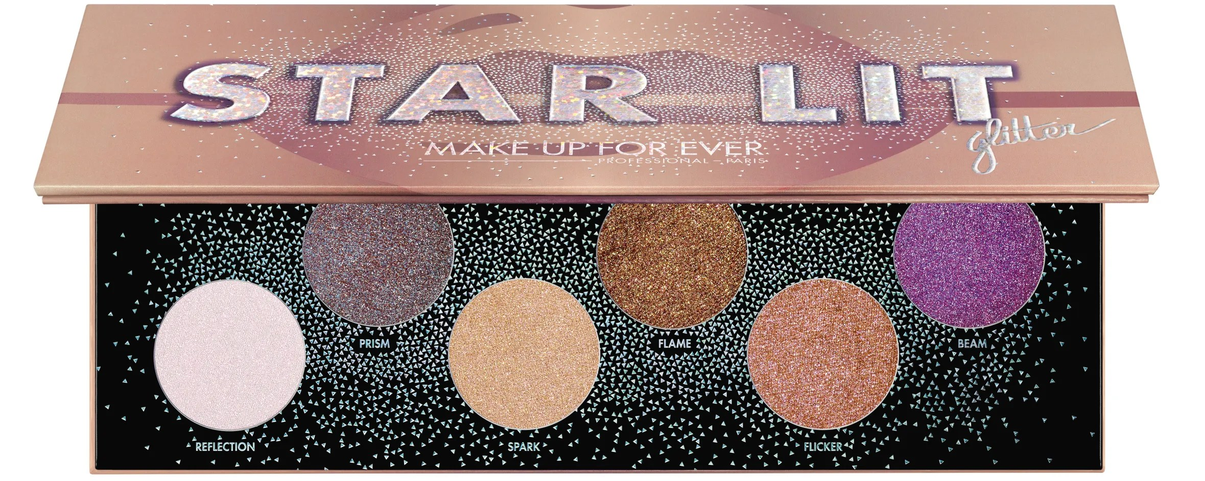 Lit En Palette Make Up For Ever Releases Star Lit Glitter Eyeshadow Palette