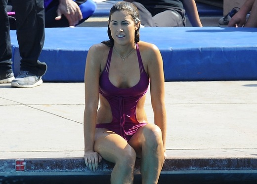 Katherine Webb Making a Splash