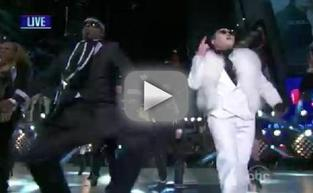 PSY New Year's Eve Performance Ft. Hammer - Gangnam Style