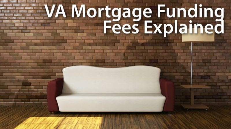 VA Funding Fee  How Much Is It And Who Is Exempt? Mortgage Rates