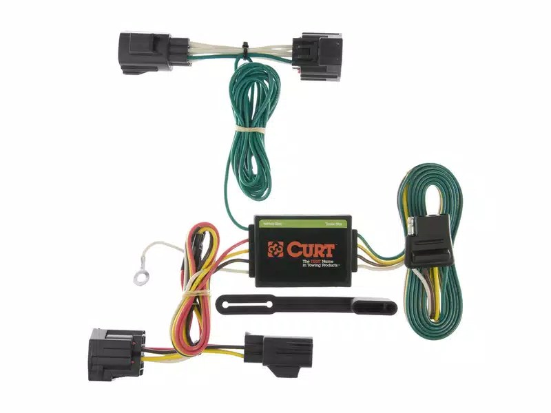Curt T-Connector Wiring Harness RealTruck