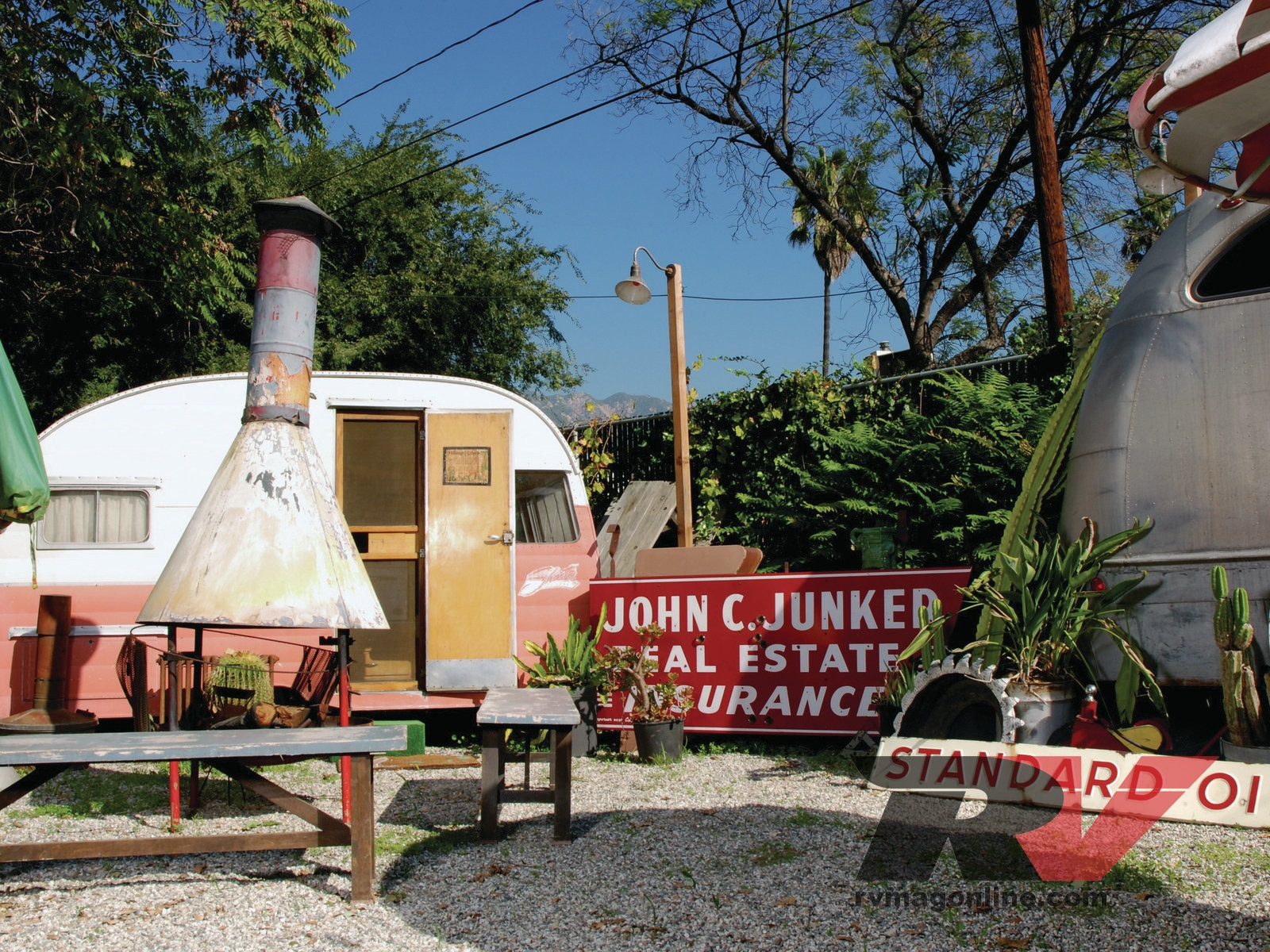 Trailer Tribe Funky Junk Farms Photo Image Gallery