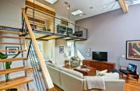 This Weeks Find: Warm Wood and a Loft in an Architects Home