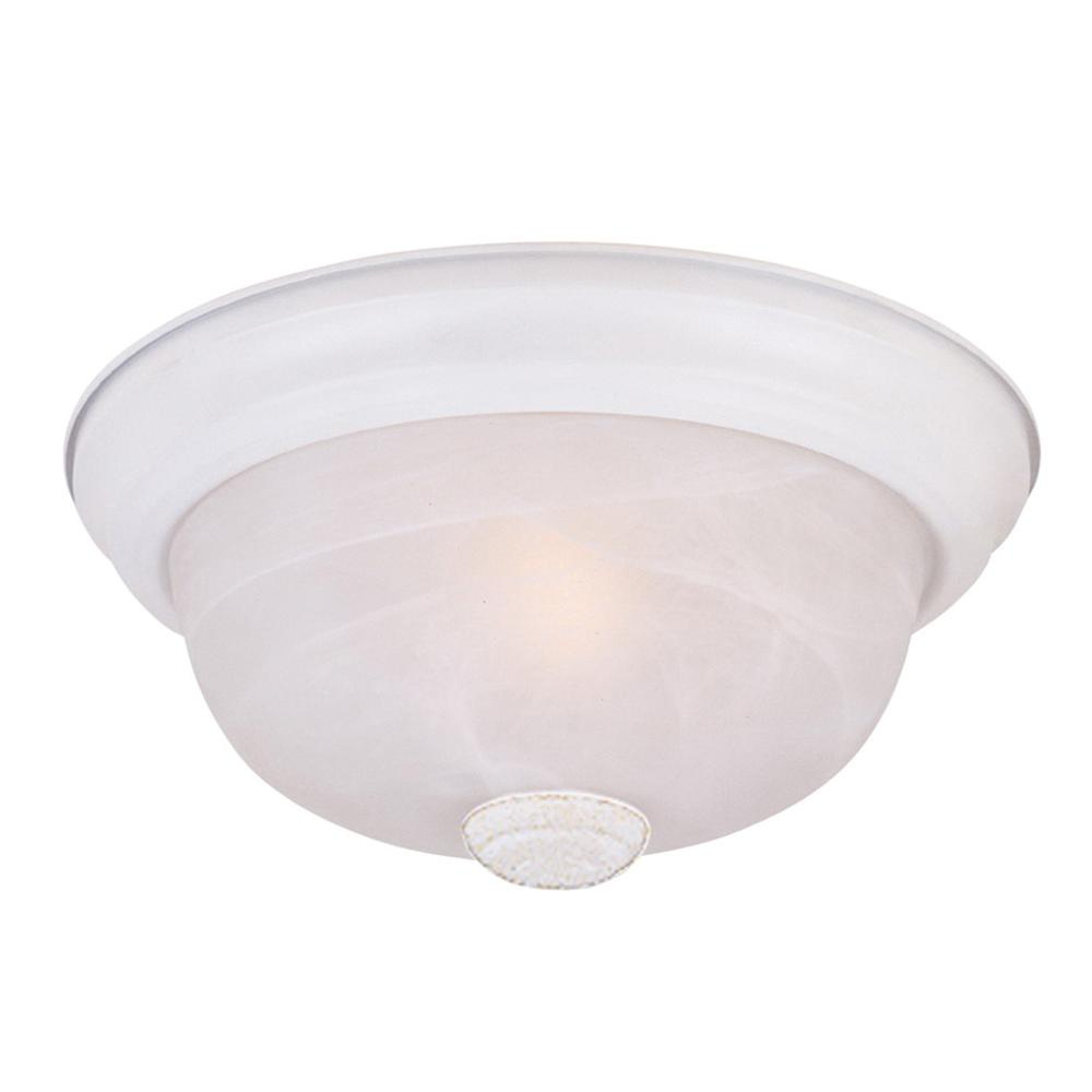 Designers Fountain Lighting Designers Fountain 1257l Wh Al 3 Light Large Flush Mount Ceiling