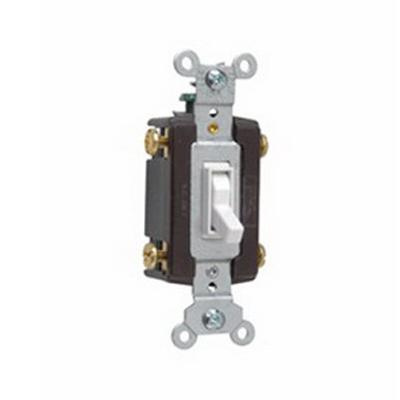 Pass  Seymour 664-WG 120-Volt AC 15-Amp 4-Way Toggle Switch White