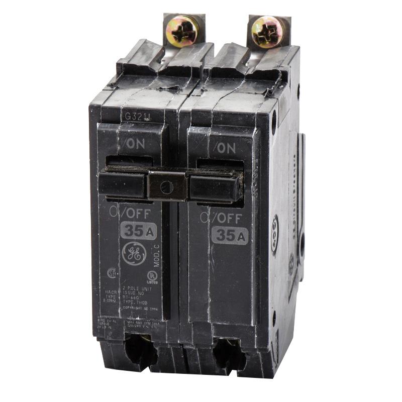 GE Industrial THQB2135 Bolt-On Mount Type THQB Miniature Circuit