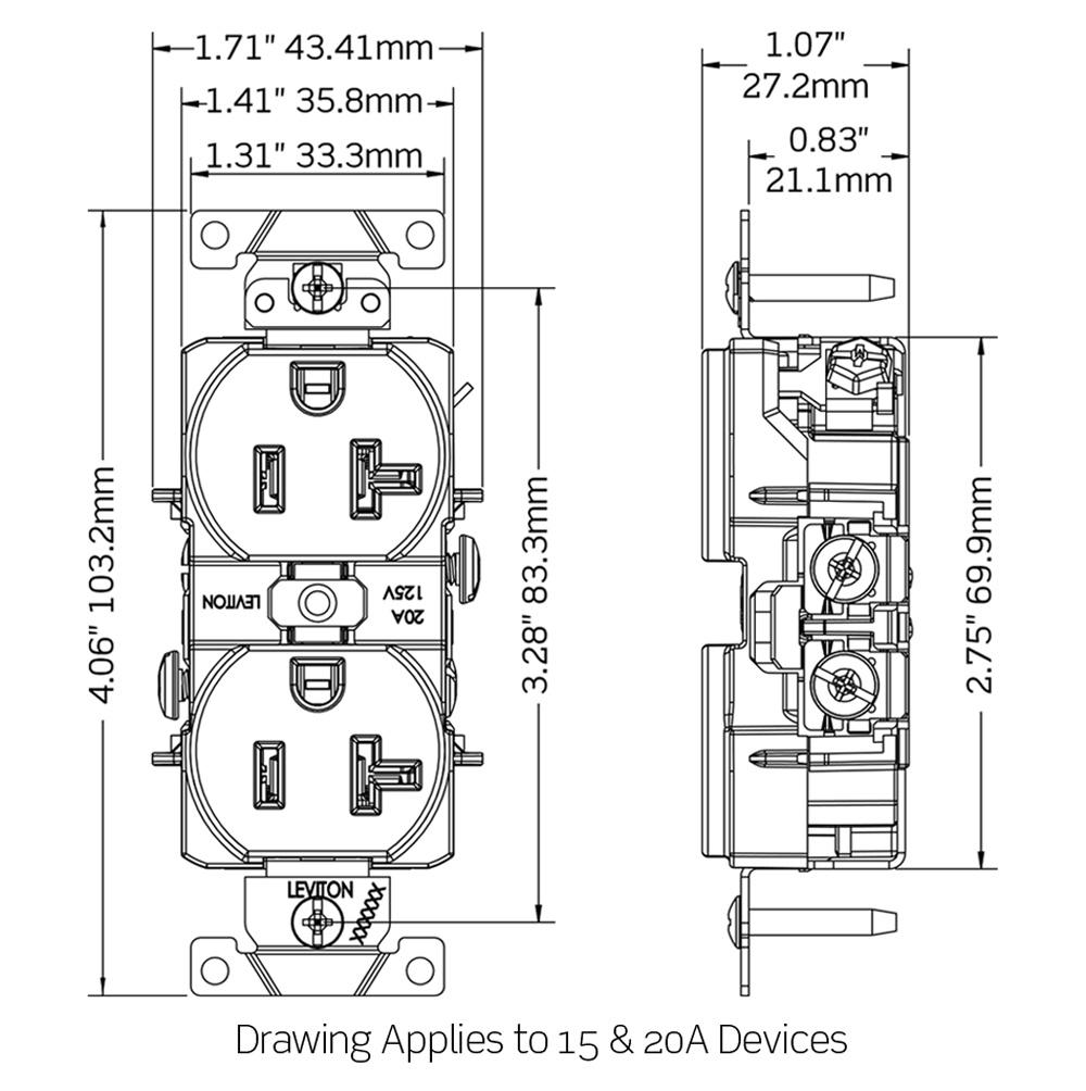 wiring a duplex ac outlet
